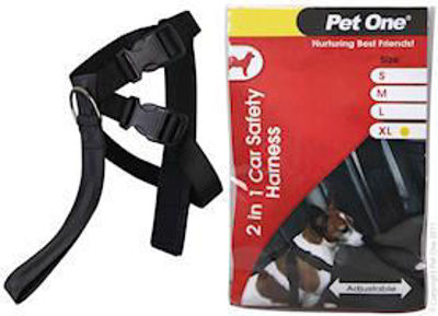 Picture of CAR SAFETY HARNESS TWO IN ONE 60CM